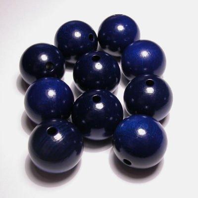 rond kobalt blauw 15 mm